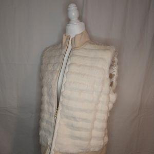 Gorgeous LN St John Sport Rabbit Vest XL